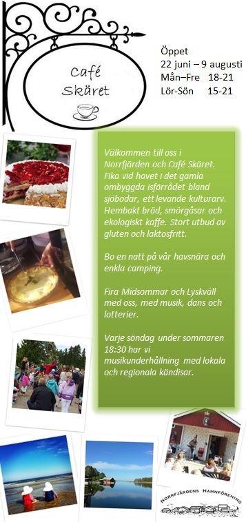 Norrfjärdens Hamnförening,  © Norrfjärdens Hamnförening, Café Skäret Norrfjärden