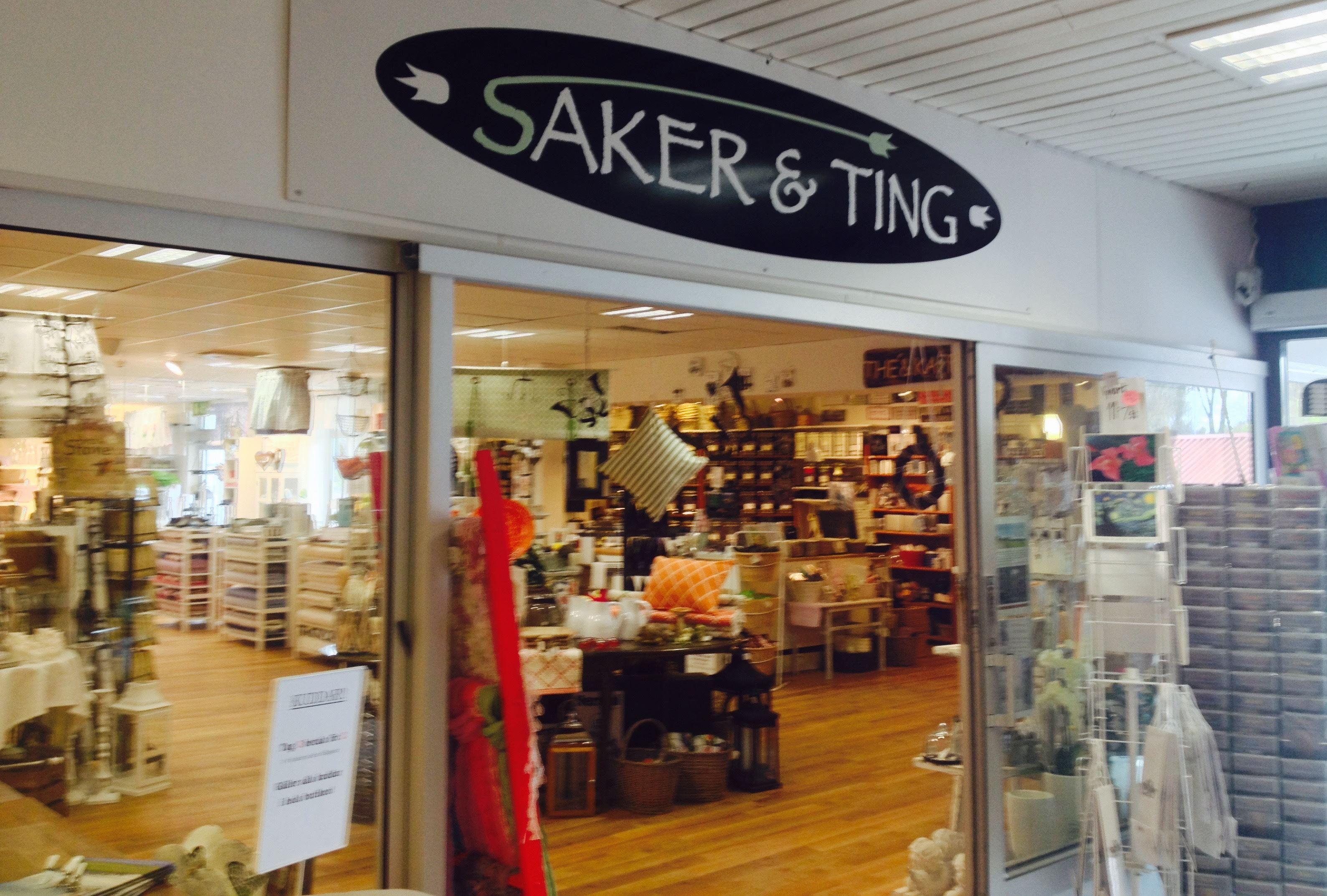 Saker & Ting