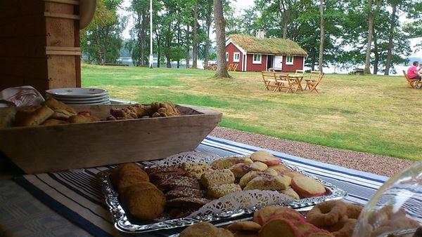 Kafferep i Odensjö Hembygdspark