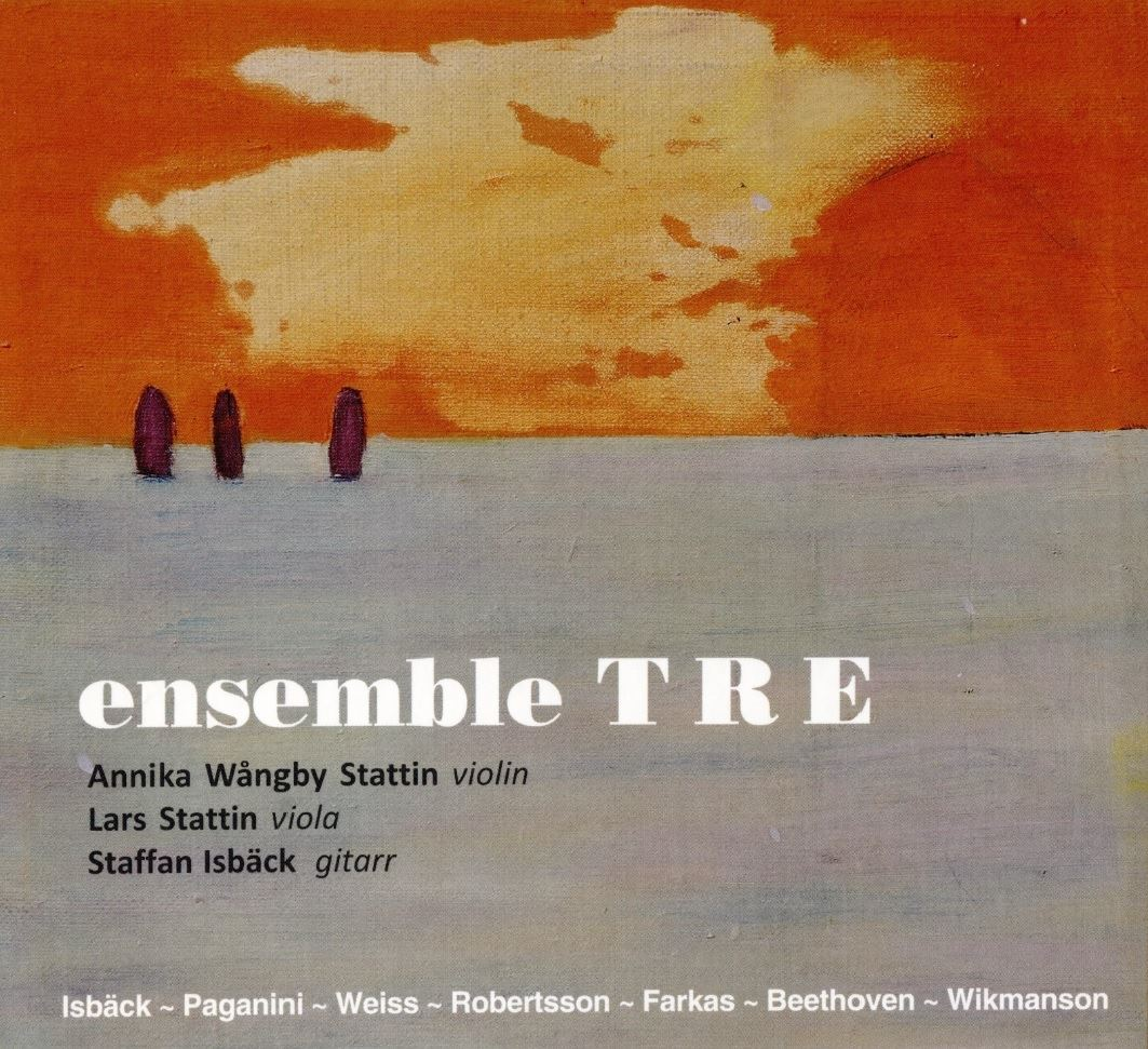 Ny CD-skiva med Ensemble TRE
