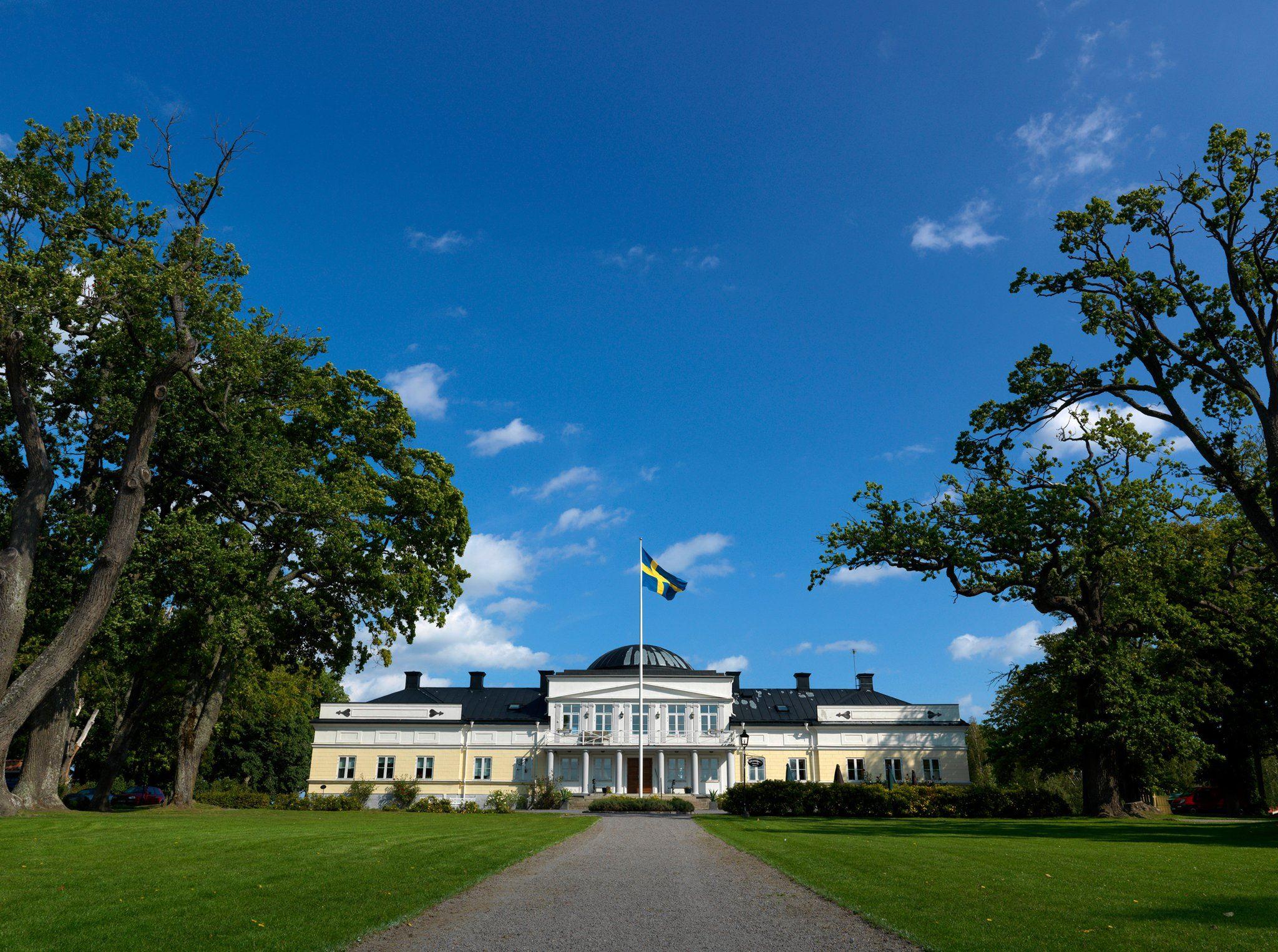 Parkkonsert med Gunnebo Musikkår på Gränsö Slott