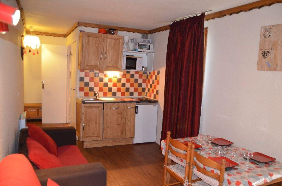 Studio cabine 4 Pers skis aux pieds / SARVAN 428