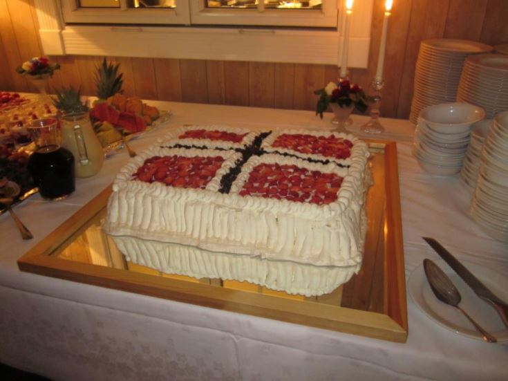 May 17 buffet at Hafjell Hotel