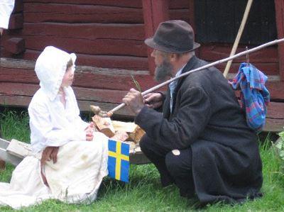 Nationaldagsfirande på Torekällberget