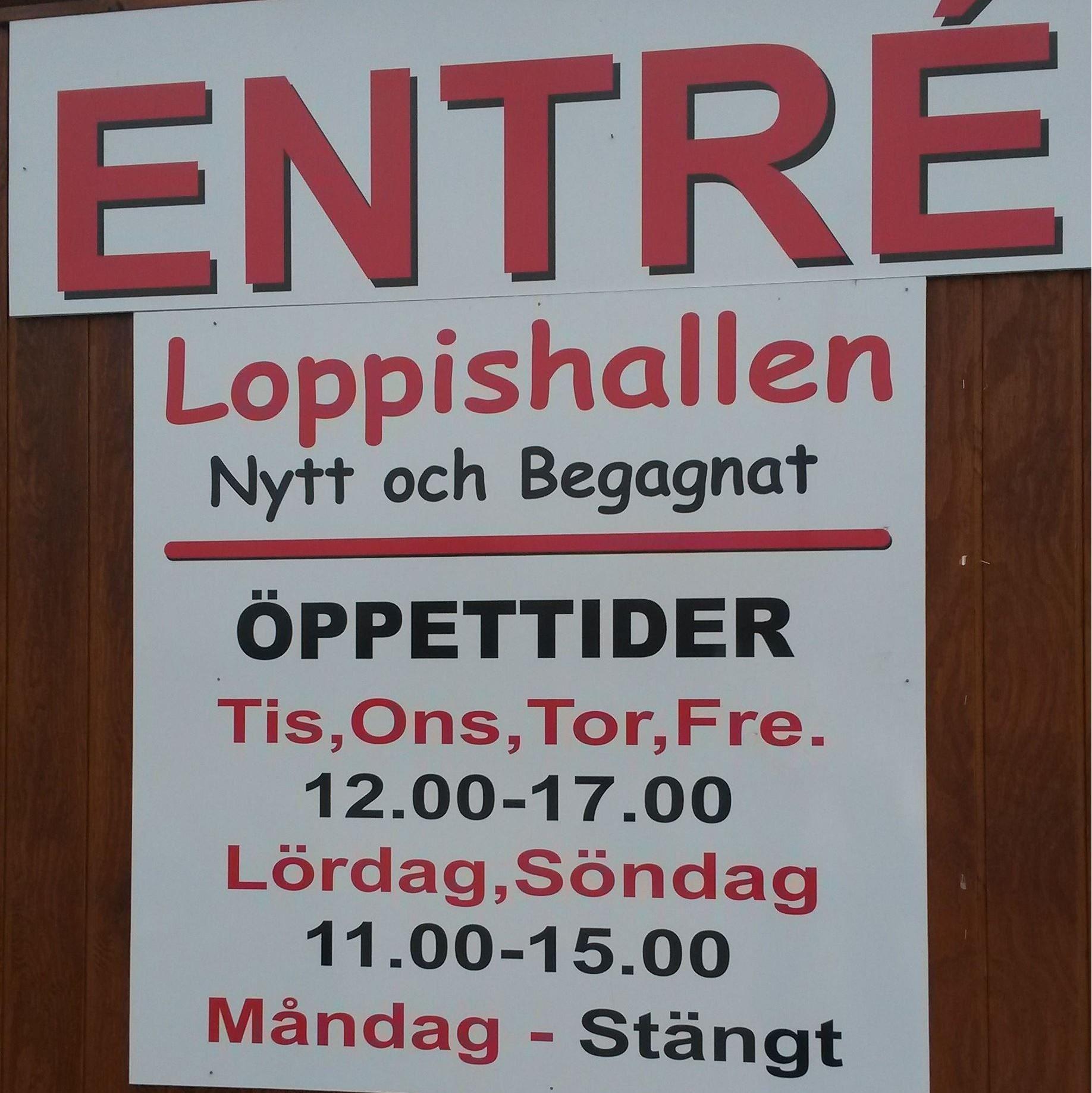 Loppishallen i Gagnef