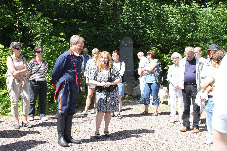 Guidade visningar i Torups slottspark med trädgårdar