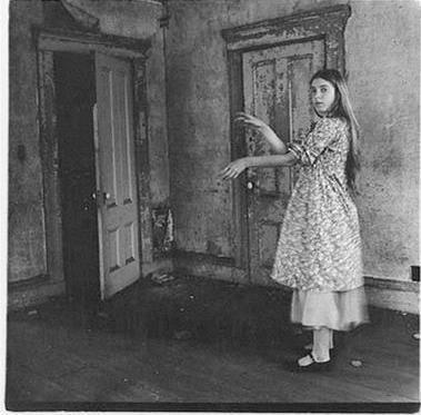 Francesca Woodman. Om att vara en ängel