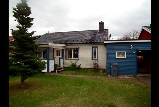 Vasaloppet vinter. Hus M193A Utmelandsvägen, Mora