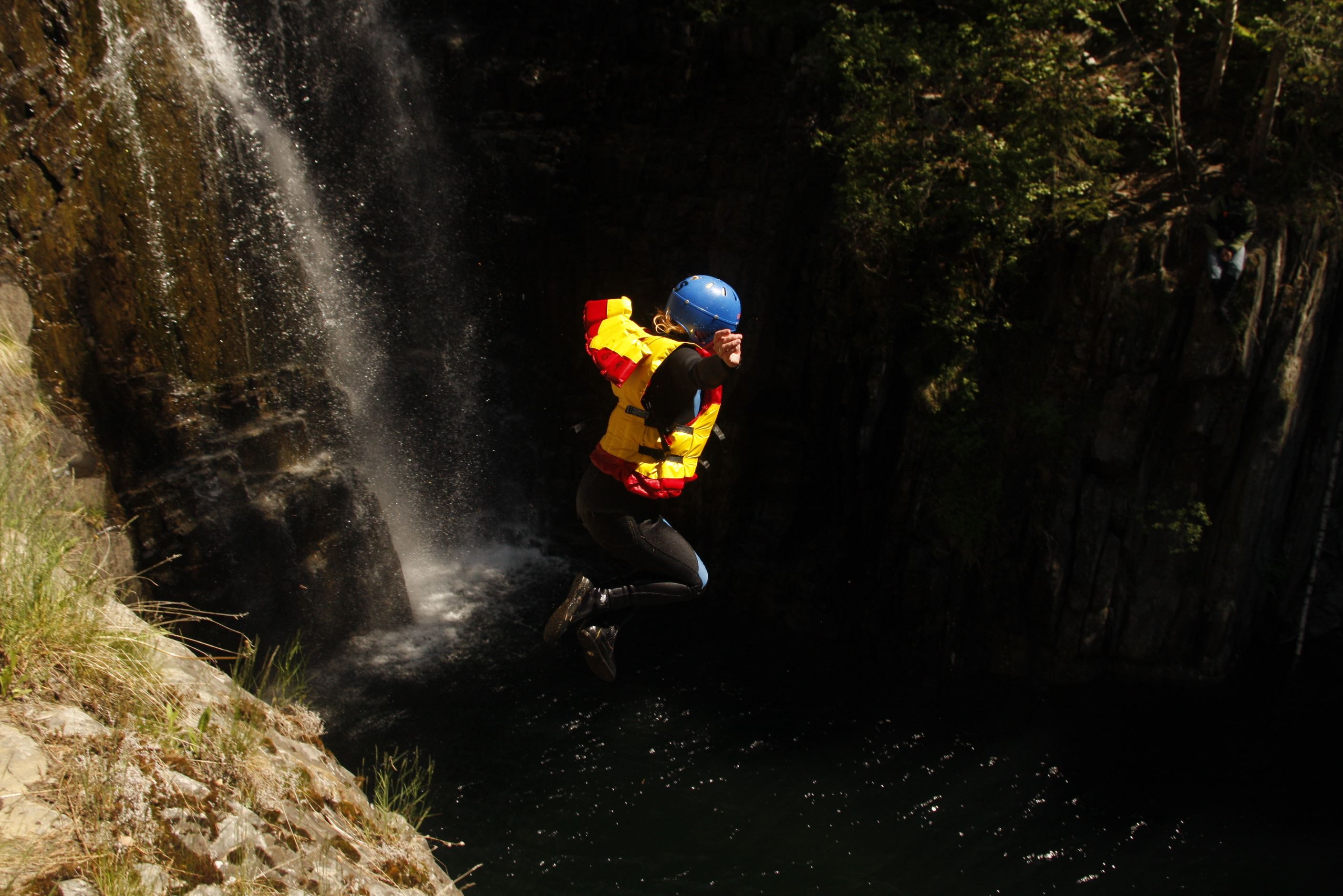 Juving/Canyoning