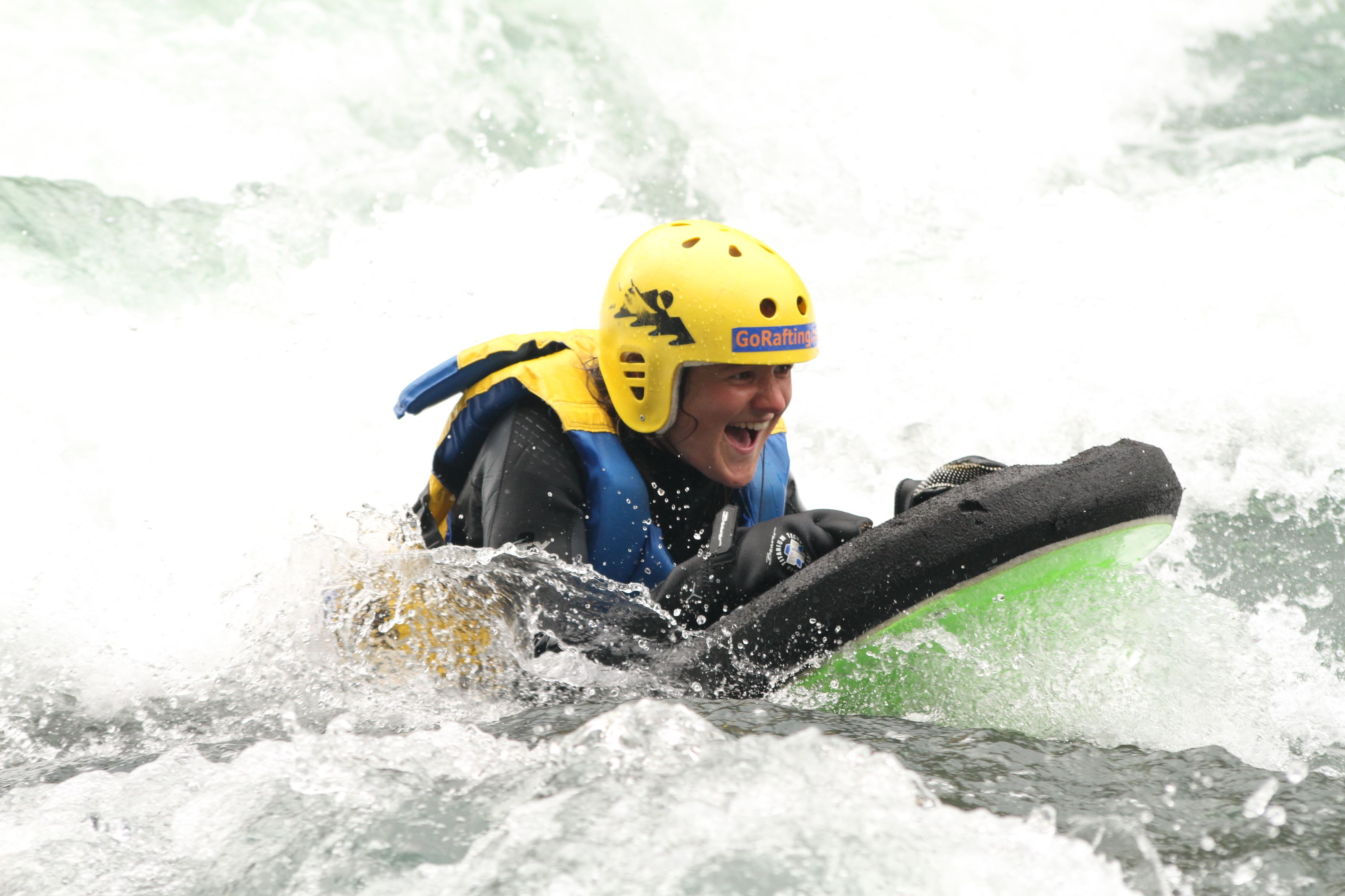 Fifty/Fifty, Rafting and Riverboarding