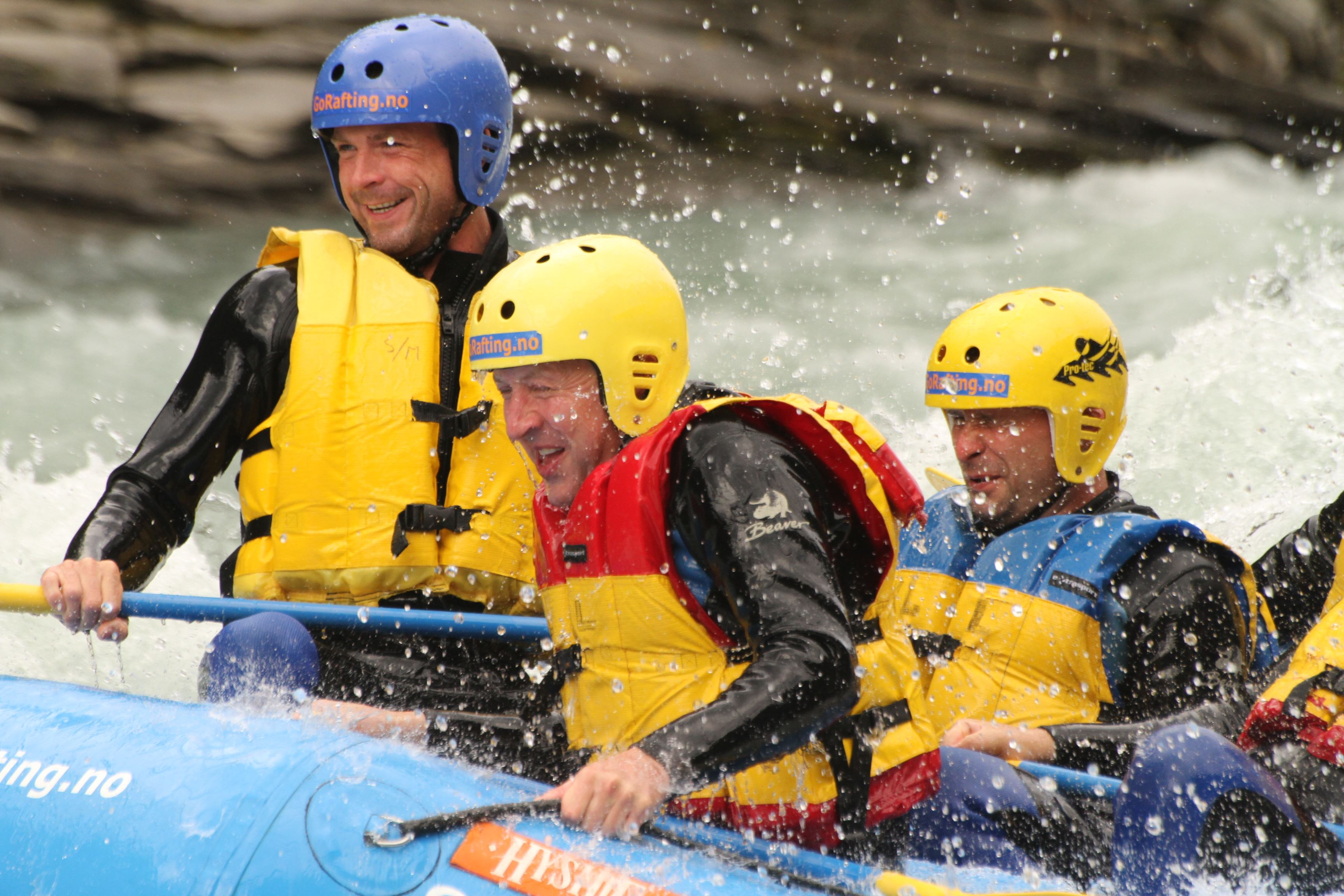 Sjoa Double, Rafting