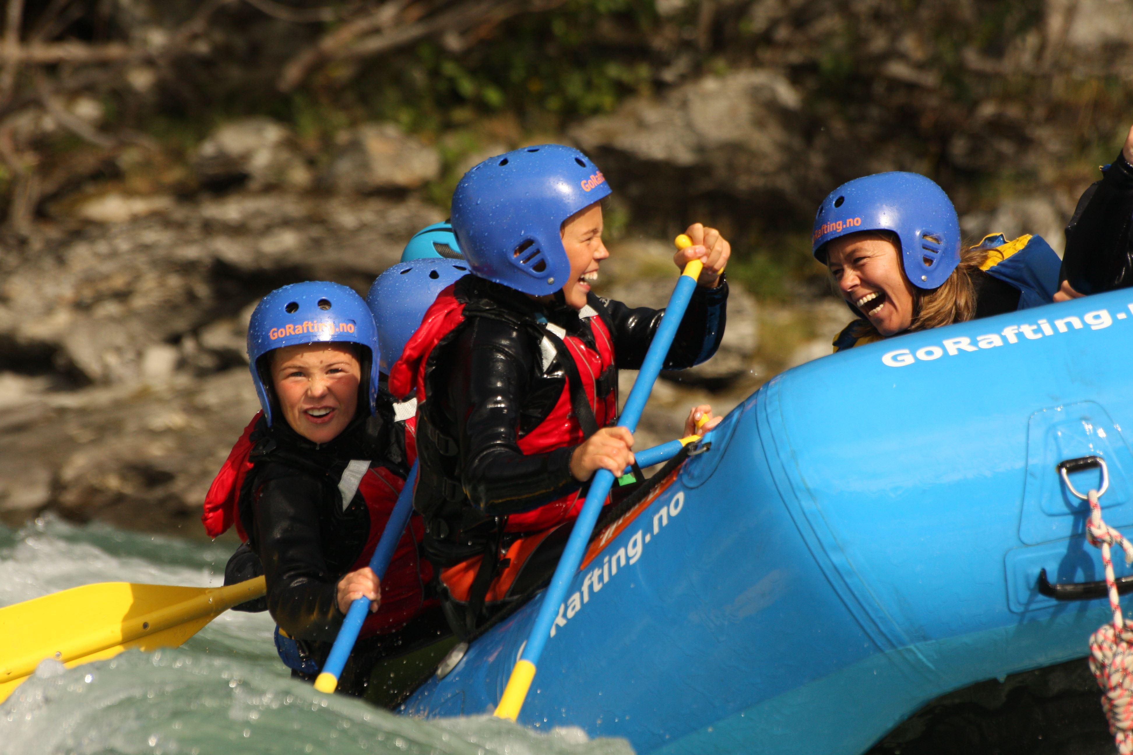 c. Family rafting