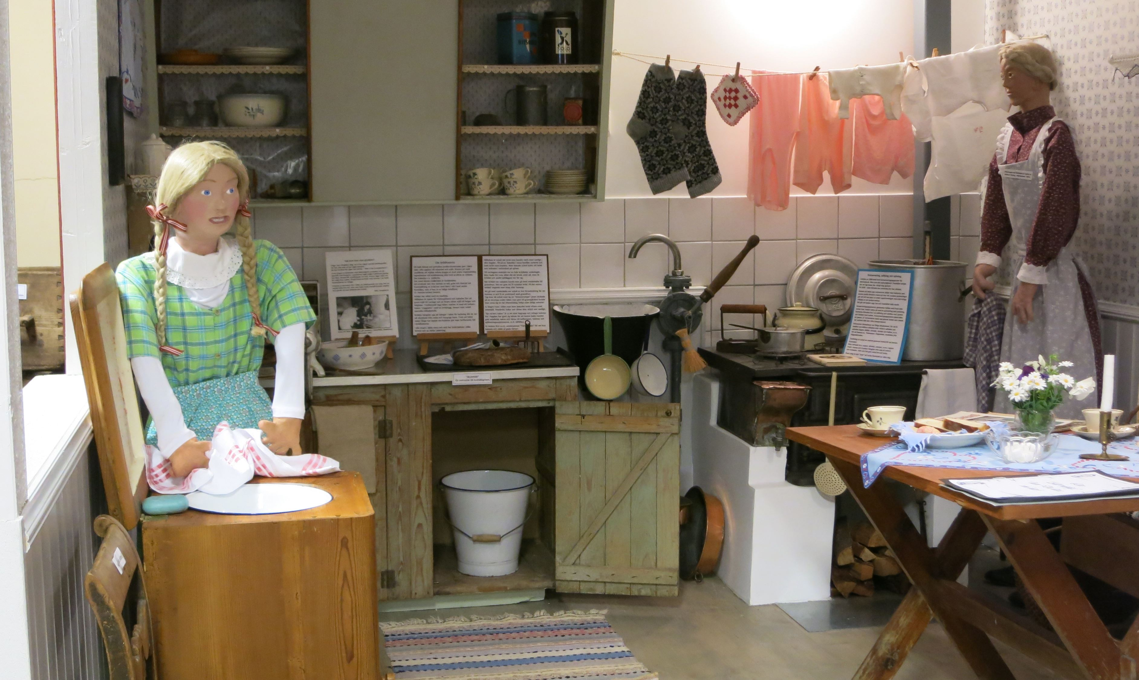 Pia Lindberg, Sommarservering i Brandstorps hembygdsgård