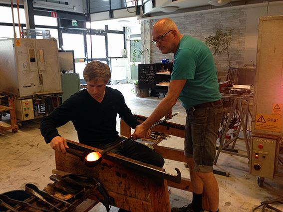Try glassblowing at Kosta Glass Centre
