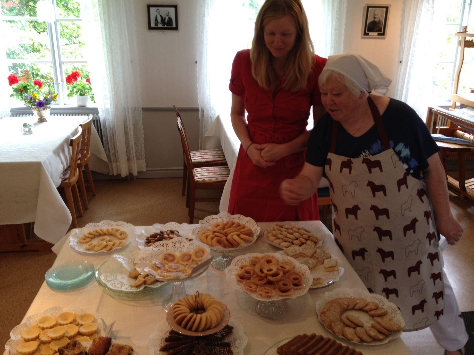 Kakfest på Bengtsgården