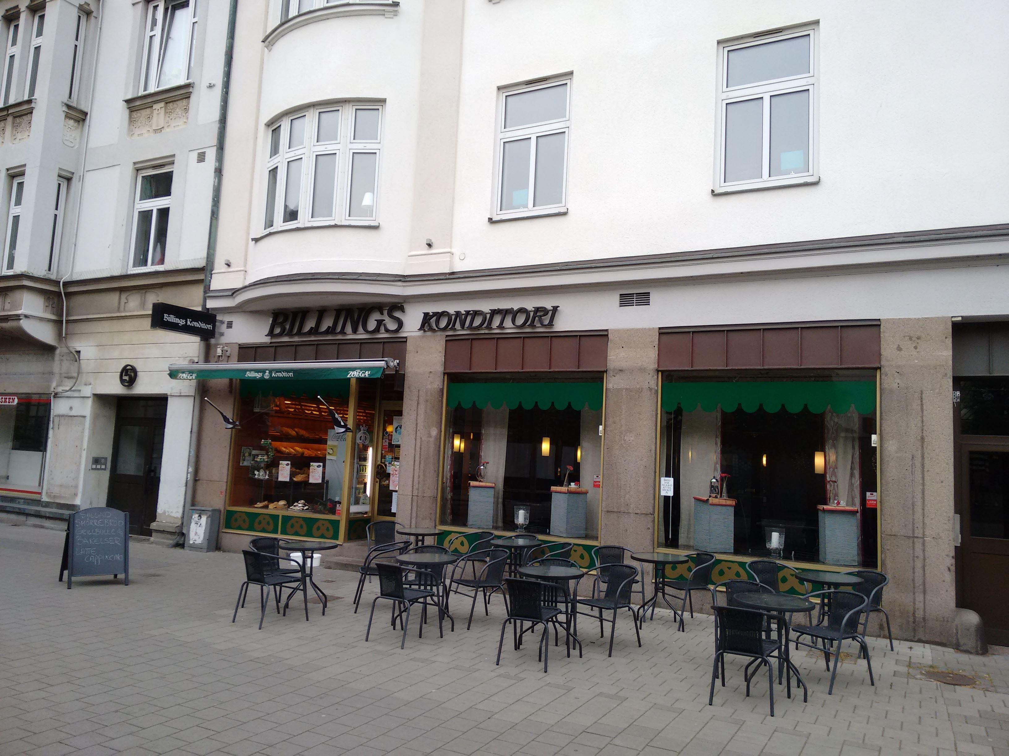 Billings pastry-shop