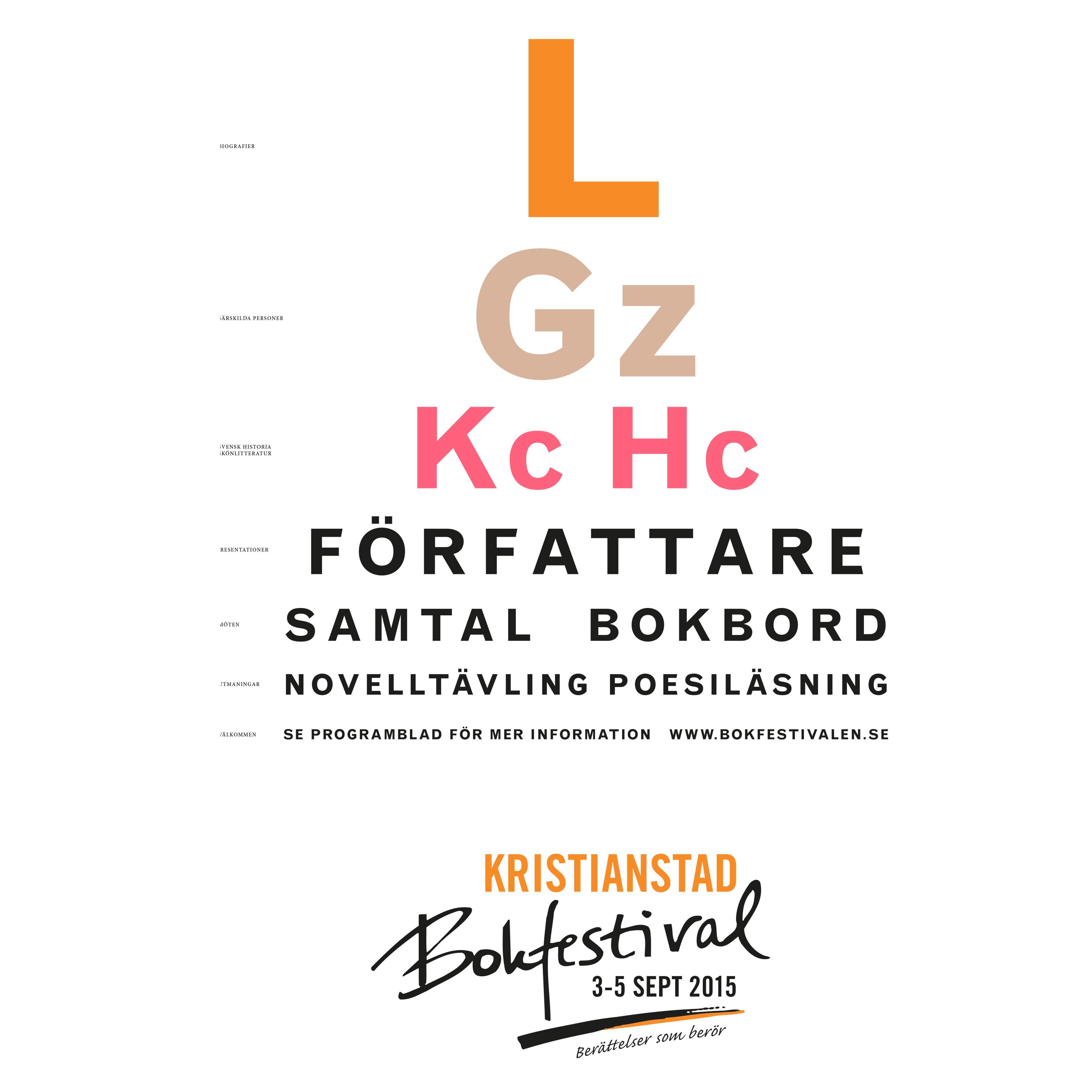 Kristianstad Bokfestival