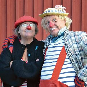 Clownshow med Max & Monick