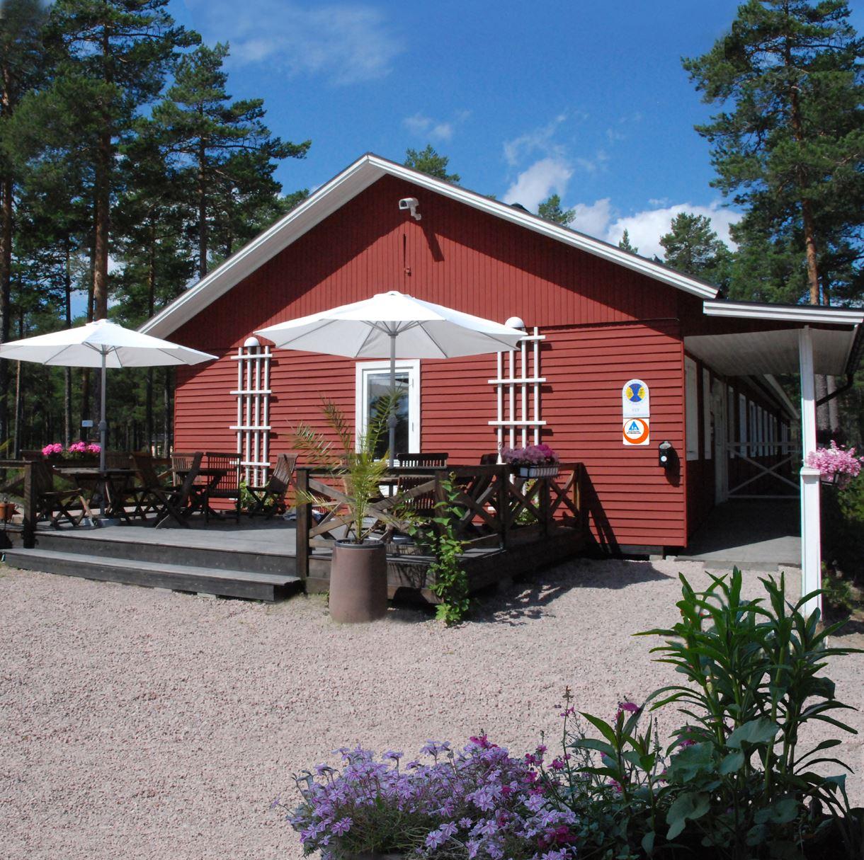 Hudiksvall, Vandrarhem, Malnbaden