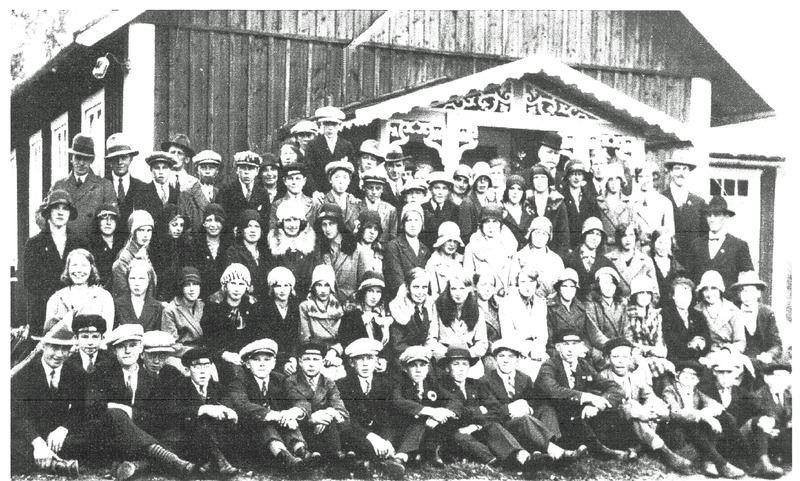 © Upphovsman: Ola Hugosson Upphovsrätt: Creative Commons, Det gamla missionshuset på 1910-talet