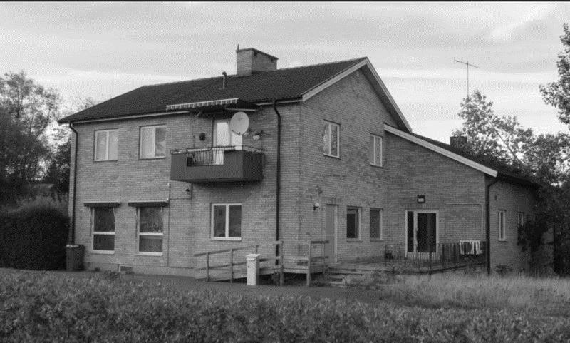 © Upphovsman: Ola Hugosson Upphovsrätt: Utslocknad upphovsrätt, Soldathem på Skillingaryds läger