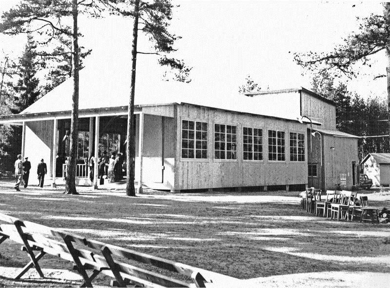 © Upphovsman: Ola Hugosson Upphovsrätt: Creative Commons, Folketsparkslokalen 1957. Bild från Bertil Petterssons samling.