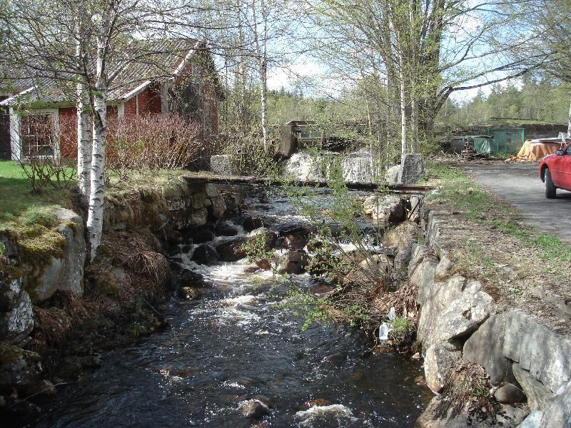 Bergfors på gränsen mellan Basseberg och Kyllås