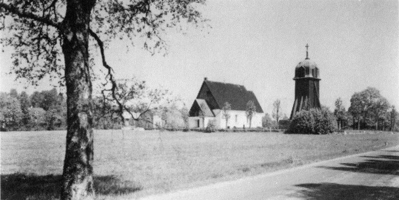 © Upphovsman: Upplagd av Camilla Appelqvist Upphovsrätt: Alla rättigheter reserverade, Hagshults kyrka från sydväst. (Samtliga foton ur Hagshults kyrkoarkiv)