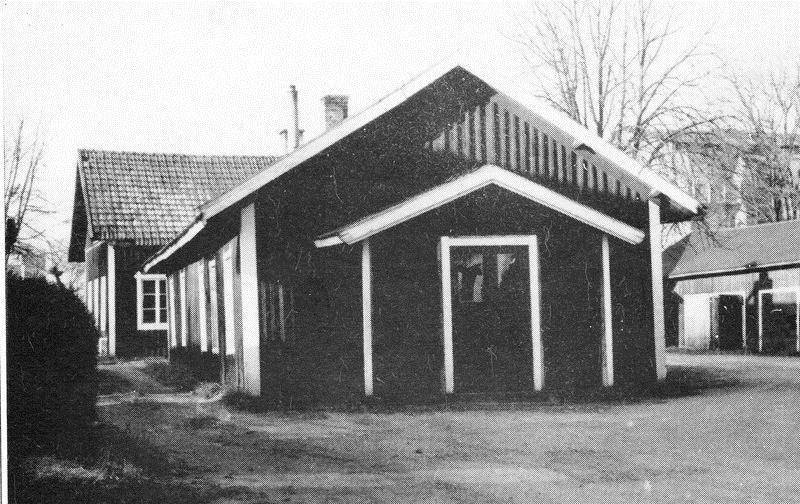© Upphovsman: Linnea Hugosson, FA:s första lokal 1892-1900 på Skolgatan 5.