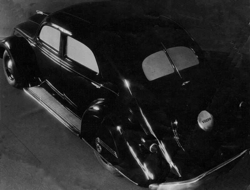 © Upphovsman: Ola Hugosson Upphovsrätt: Creative Commons, Första karossen till modellen framställdes i Kvarnaberg mitt under den stora strejken på 1940-talet