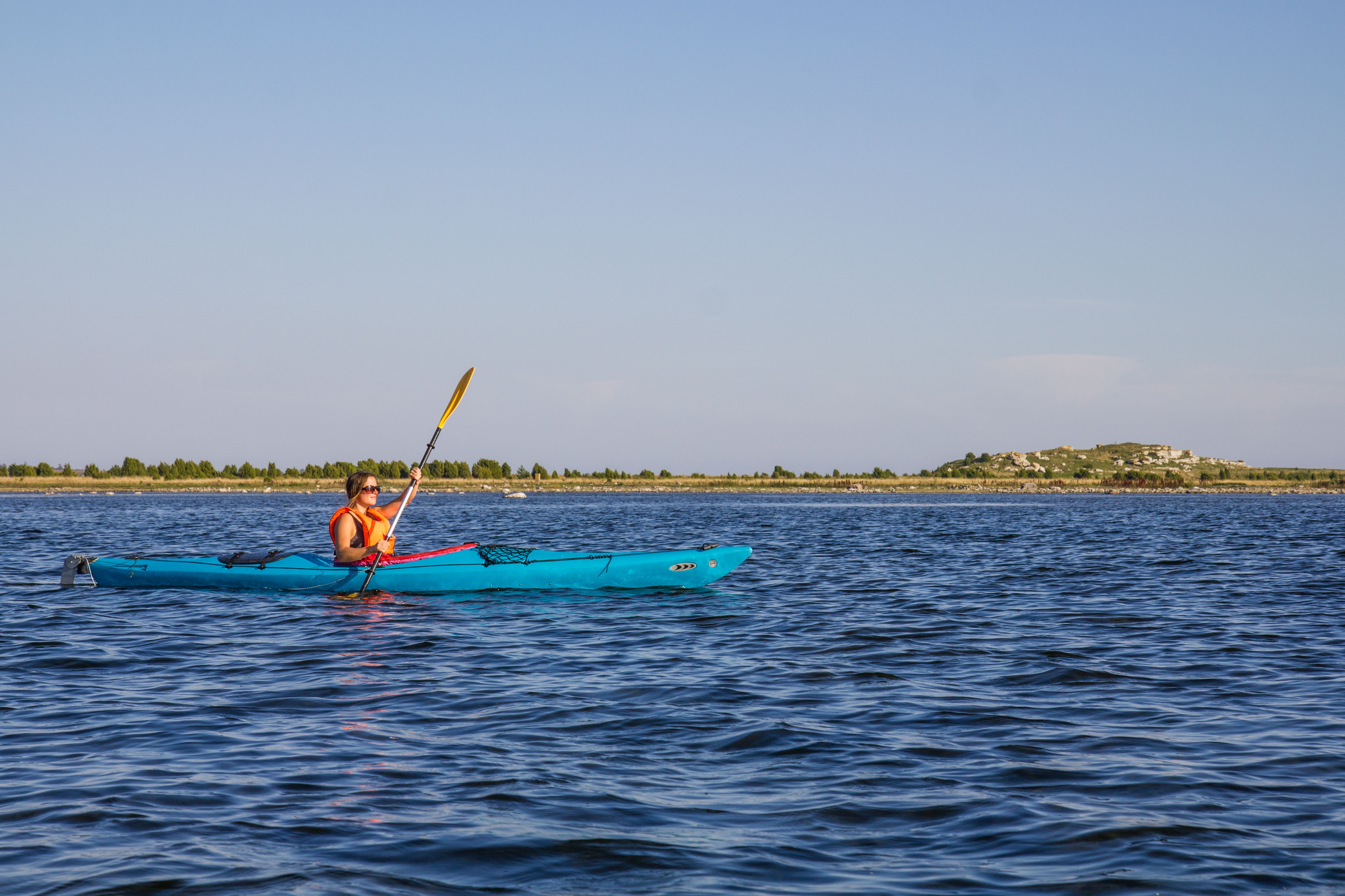 Kayaking day trip