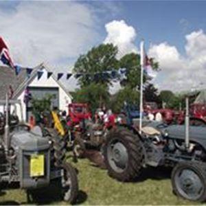 Traktorer på landet