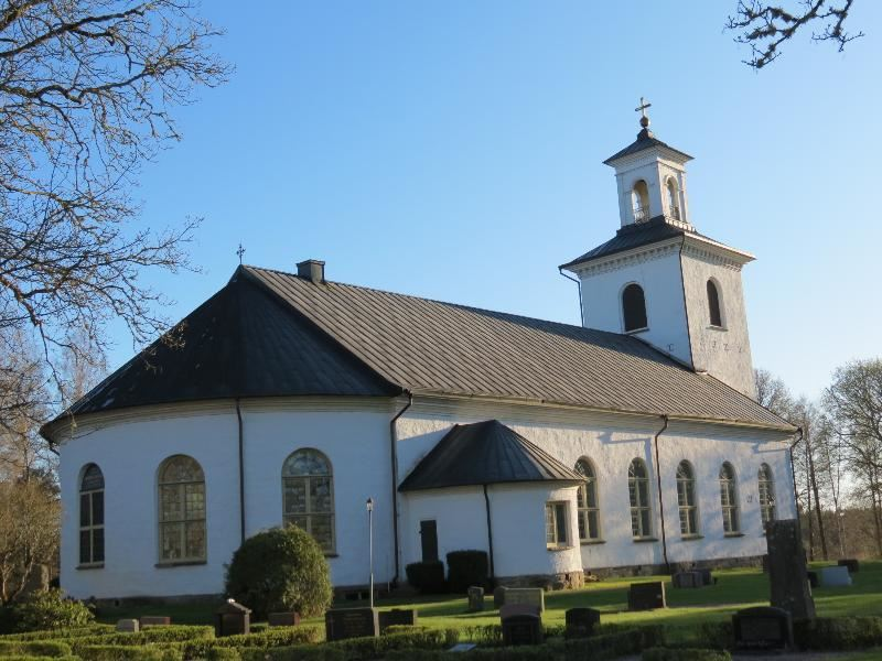© Upphovsman: Ola Hugosson Upphovsrätt: Creative Commons, Åkers nuvarande kyrka