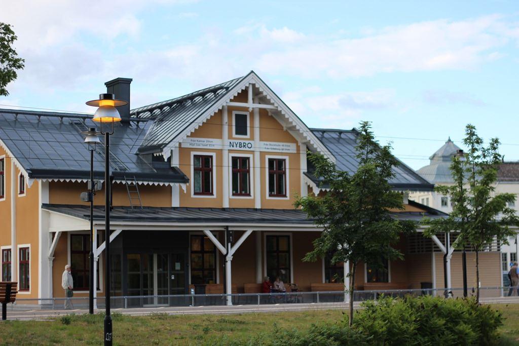 Natur- & Kulturguider i Glasriket - Stadsvandring Nybro