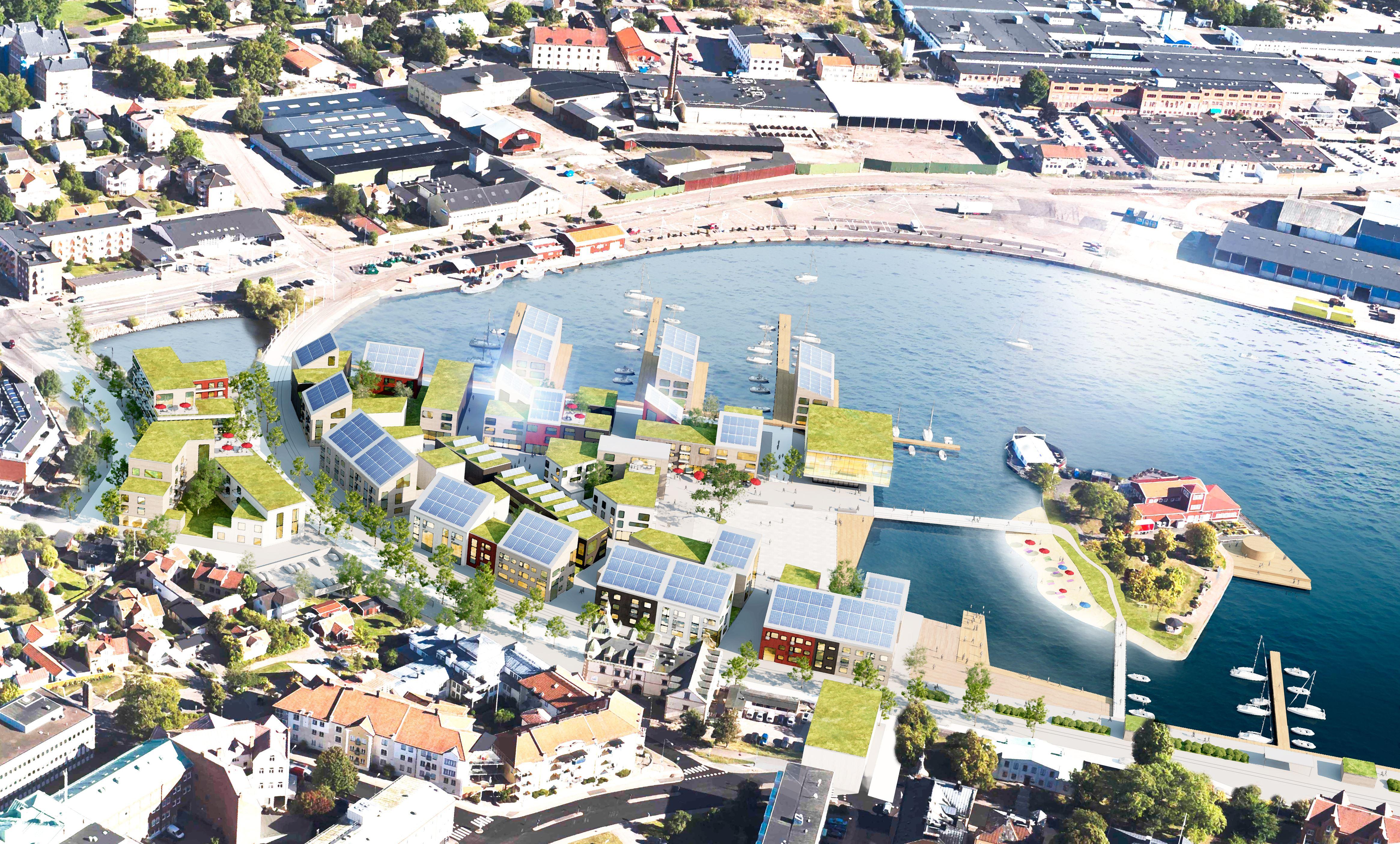Stadsomvandling Inre hamnen