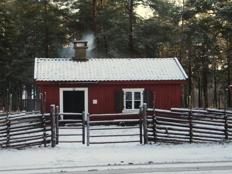 © Upphovsman: Sven Engkvist Upphovsrätt: Creative Commons , Torpstugan Bostad för knekten och hans familj