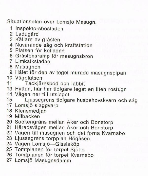 © Upphovsman: Sven Carlsson Upphovsrätt: Creative Commons, Beskrivning till situationsplan Text från boken