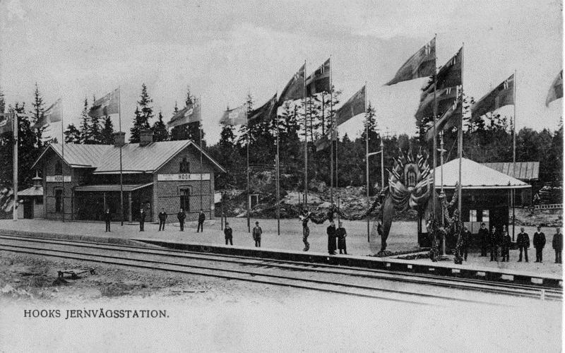 © Upphovsman: upplagd av Camilla Appelqvist, Hok station 1895