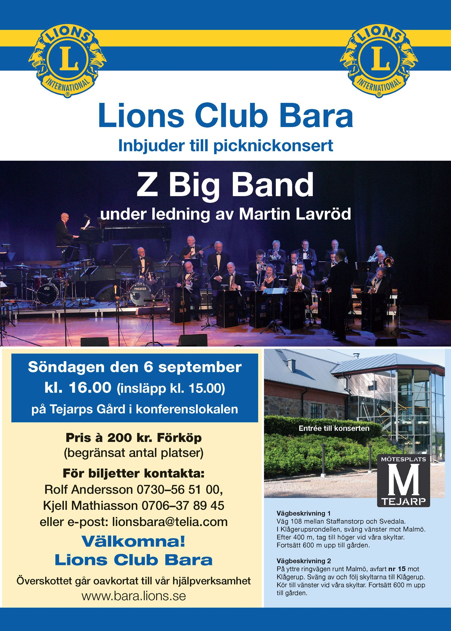 Picknickkonsert med Z Big Band