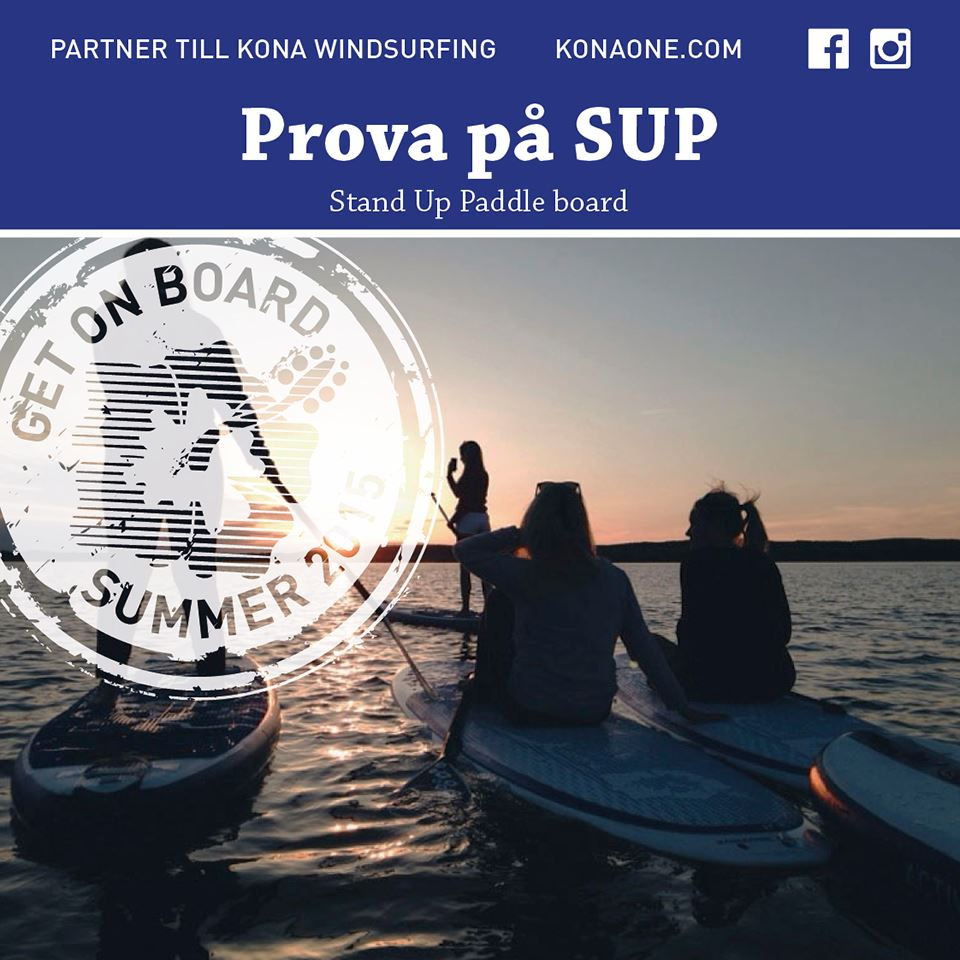 Rent a paddleboard/SUP - Strömstad kayak
