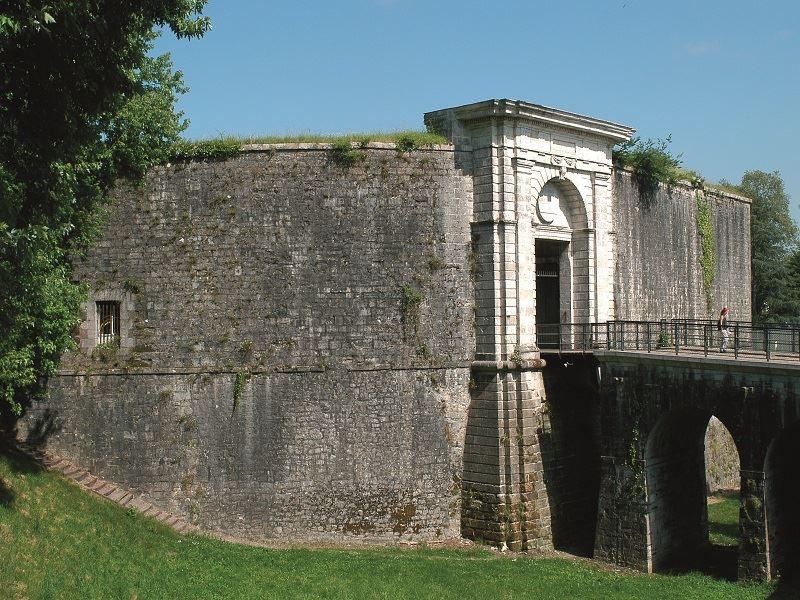 Las murallas de Baiona