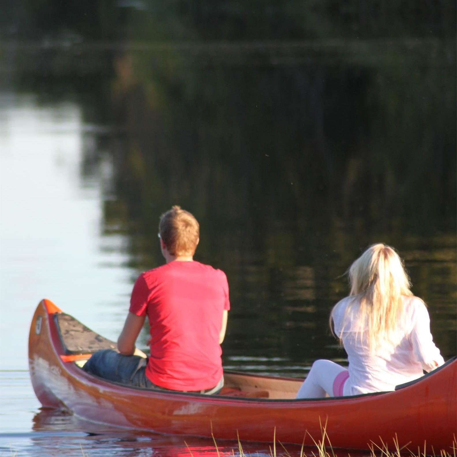 Malungs Turistbyrå, Canoe rental at Malungs Camping