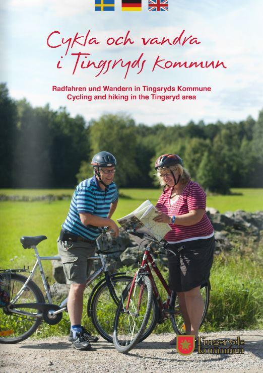 Broschyren cykla och vandra i Tingsryds kommun