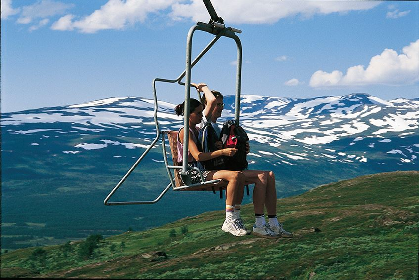 © Hemavan Alpint, Summer chair lift in Hemavan