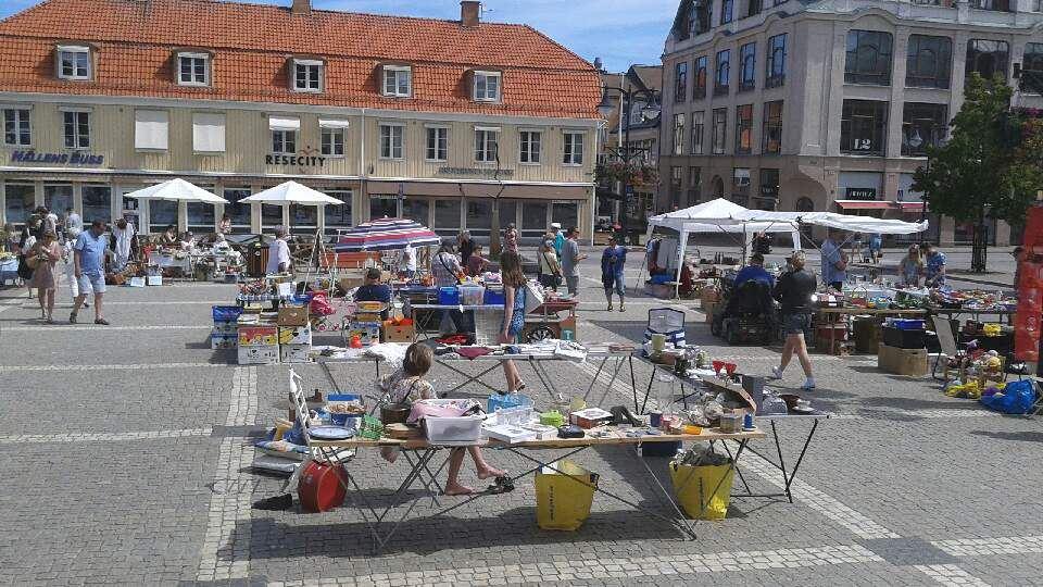 Lion's Fleamarket at Stora Torget