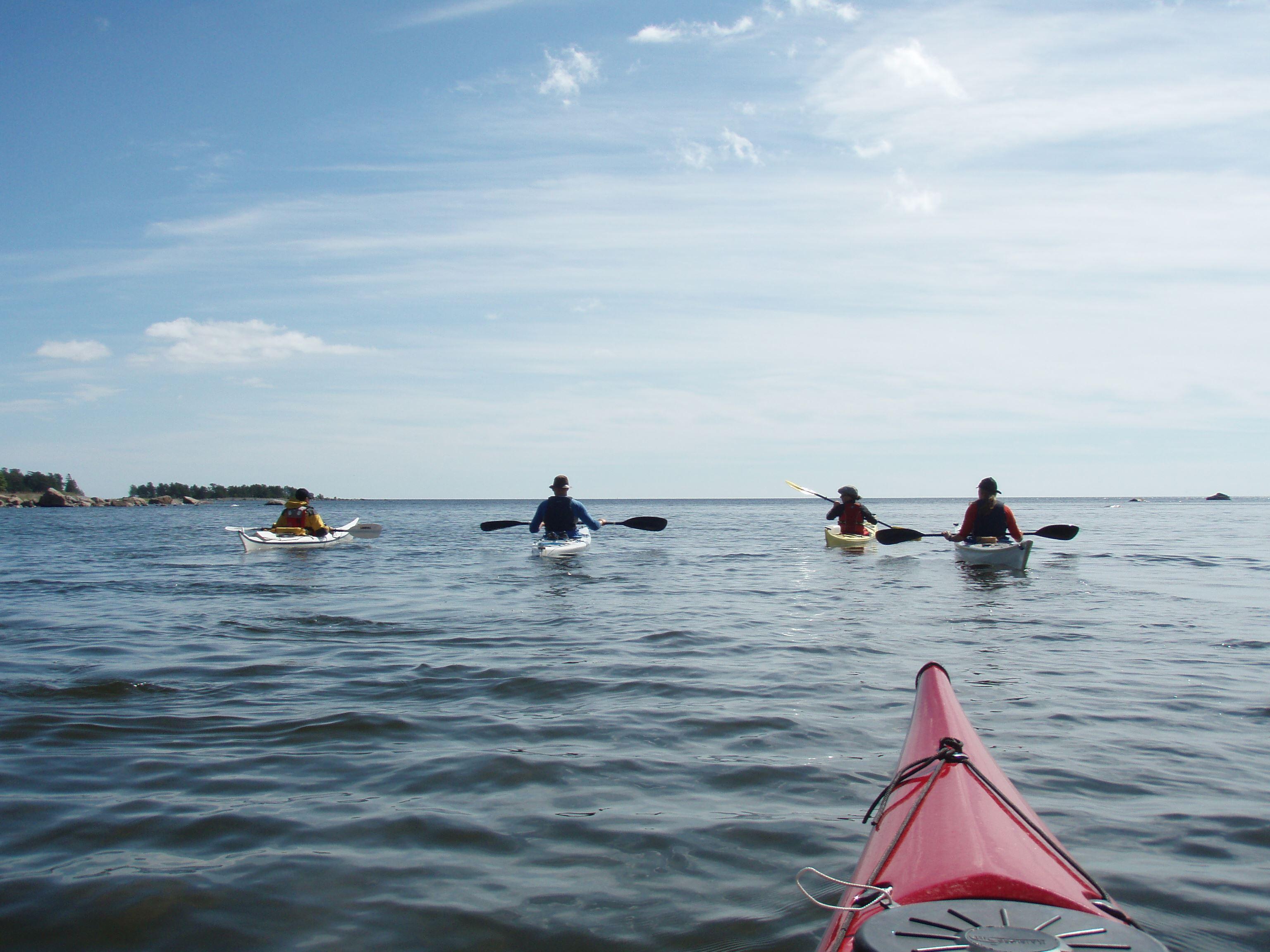 Upplev Söderhamn från kajak eller kanot
