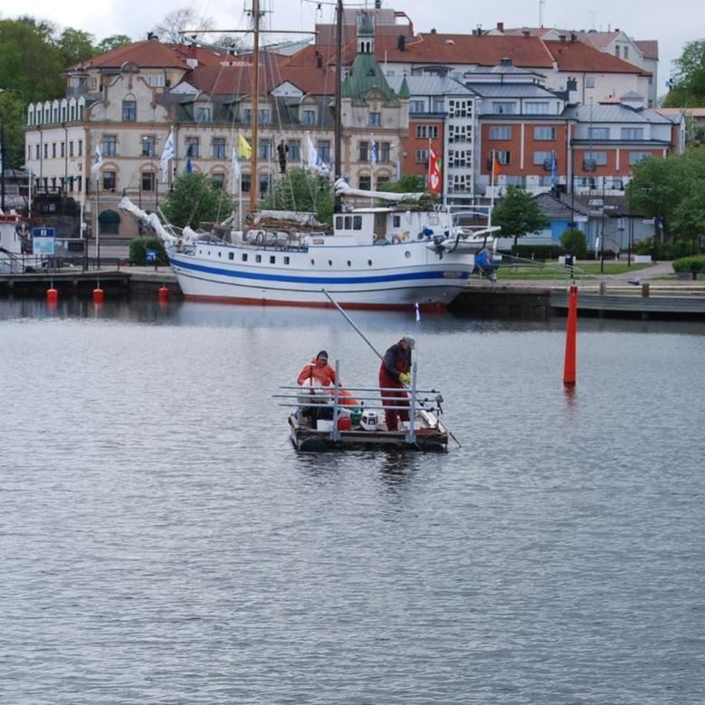 Projekt sanering av Oskarshamns hamnbassäng