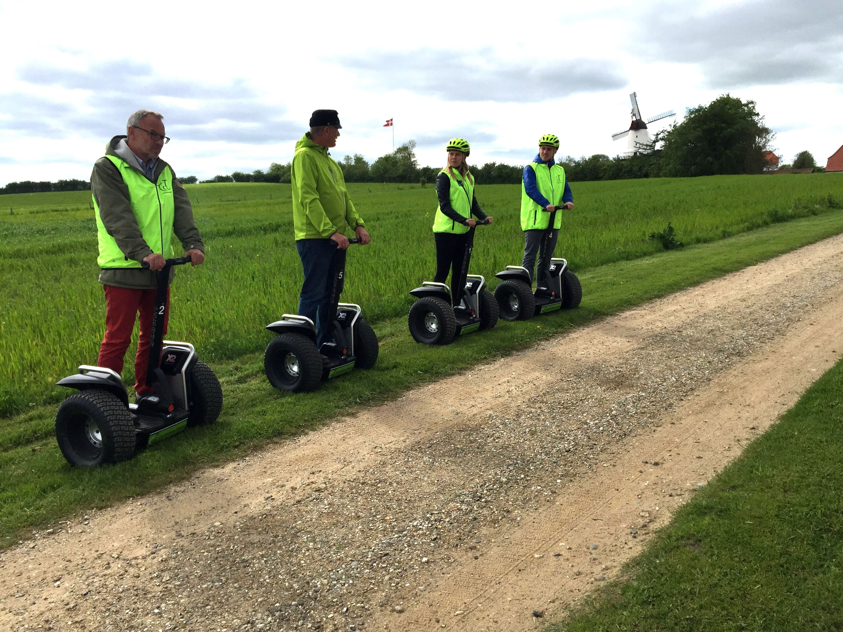 Great Segway tour on Dybbølbanke with guide