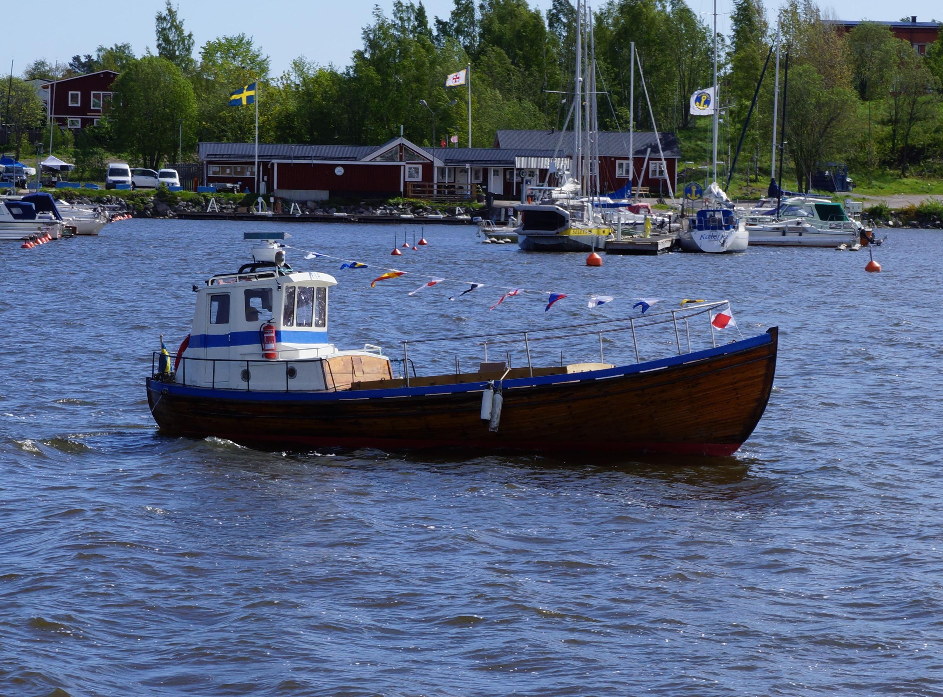 Båttur med Fia vid Hudiksvalls kust