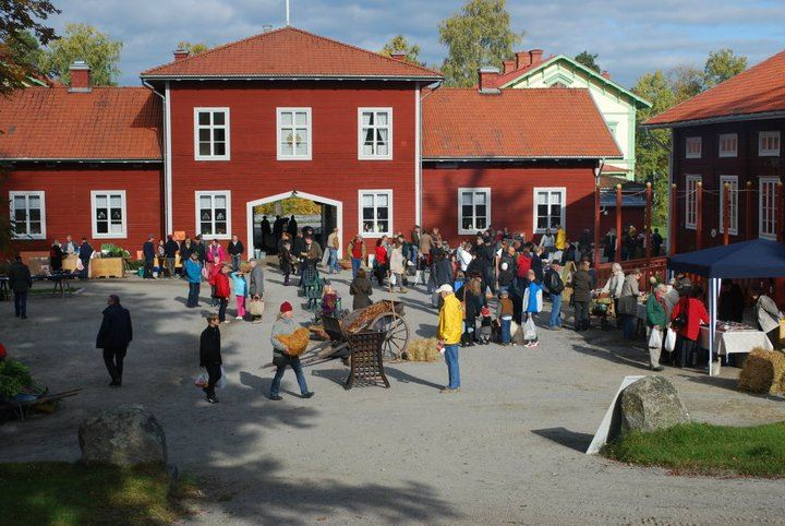 Mickelmässmarknad på Stenegård i Järvsö